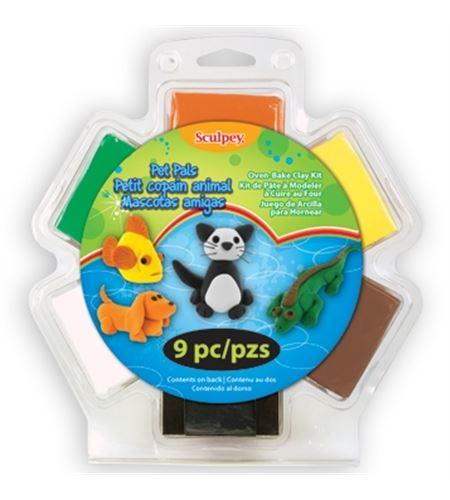 Kit infantil sculpey - pet pals - SSB81