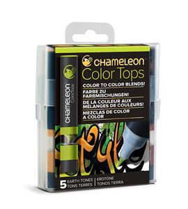 Chameleon color tops - tonos earth - CT4503
