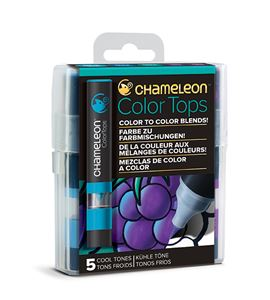 Chameleon color tops - tonos cool - CT4504