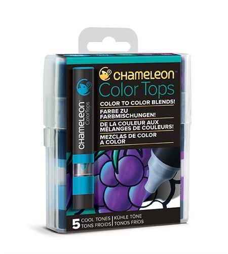Chameleon color tops - tonos cool - CT4504