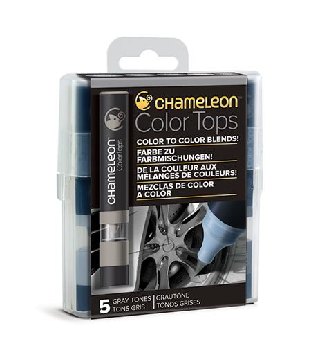 Chameleon color tops - tonos gray - CT4509