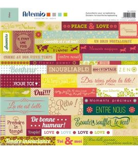 Etiquetas adhesivas para scrapbook - oldies - 11004184