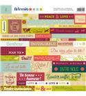Etiquetas adhesivas para scrapbook - oldies