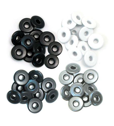 Set de eyelets - 4 tonos neutros 40pc. - 415947