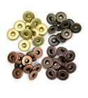 Set de eyelets - 4 tonos cobre 40pc.