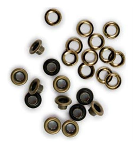 Set de eyelets - latón 60pc. - 42217-4