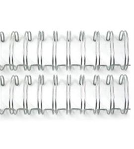 Espiral para encuadernar - plata 2,5cm. - 71009-7