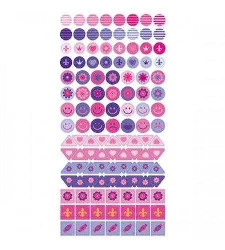 Adhesivos semi transparentes - princess - 11004158