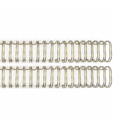 Espiral para encuadernar - dorado 1,9cm. - 660750