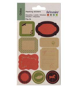 Etiquetas de masking tape - oldies - 11004166