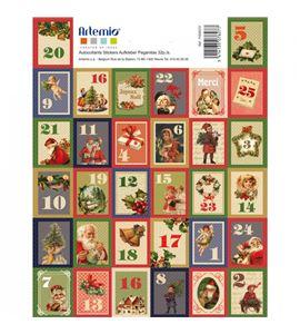 Números para calendario de adviento - classic - 11004372