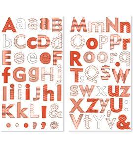 Alfabeto de cartón adhesivo - 11006458
