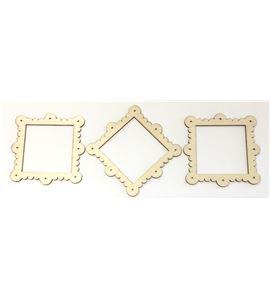 Set de marcos de madera - 14001381