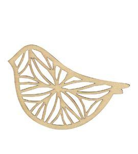 Set de siluetas de madera - pájaro - 14002243