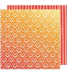 Hoja de papel de scrapbook - hello sunrise - 341875