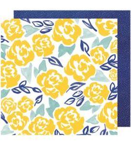 Hoja de papel de scrapbook - marygold merriment - 343414