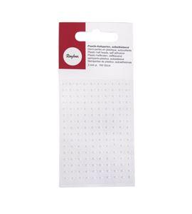 Perlas adhesivas - blanco - 1510602