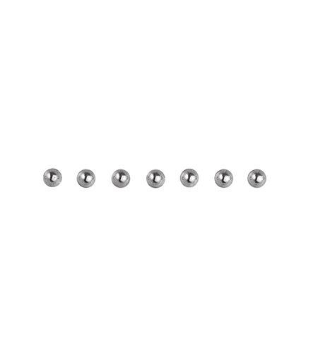 Perlas adhesivas - plata - 1510622