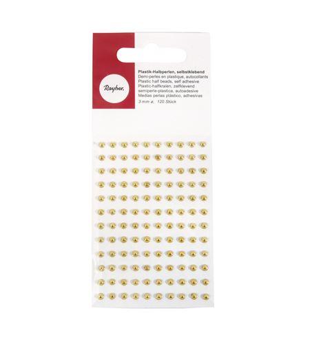 Perlas adhesivas - dorado - 1511706_2