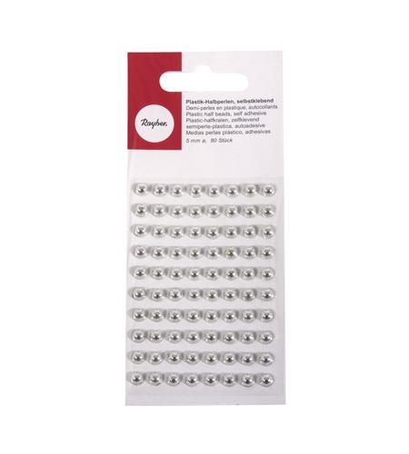 Perlas adhesivas - plata - 1511822_2