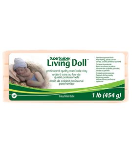 Super sculpey - living doll baby - ZSLD4