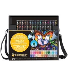 Estuche - maletín con 30 colores chameleon - CT3001HIRESRGB