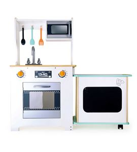 Cocinita infantil con barra, moderna - 10047