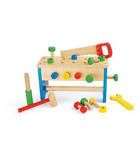 Caja de herramientas y banco de trabajo, 2 en 1 - 10052