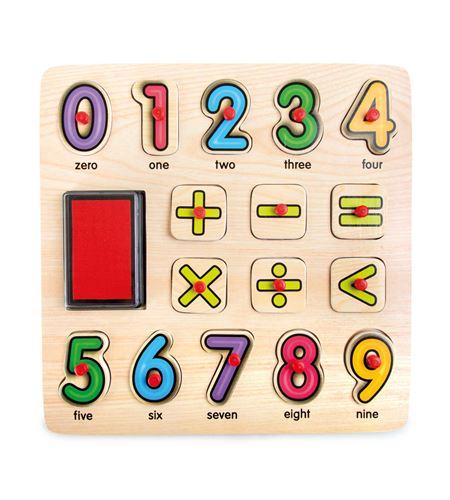 Puzle con sellos matemáticas - 10078