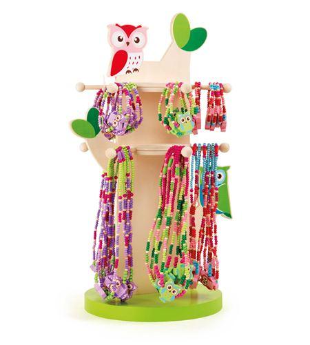 Display joyería con lechucitas - 10127