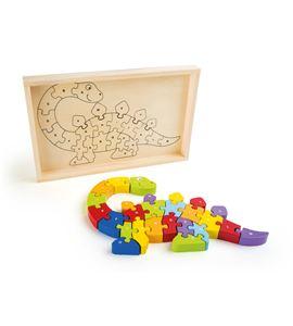 Puzzle abc dinosaurios - 10176