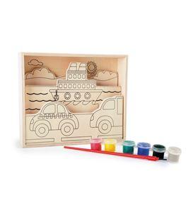 """Imágenes para colorear de madera, """"tráfico"""" - 10181"""