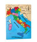Puzle de países, italia