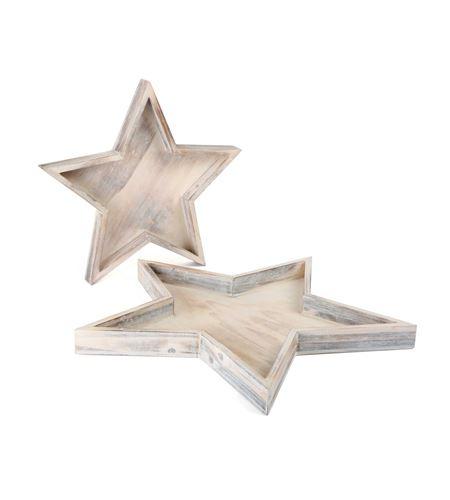 Plato decorativo estrella - 10211