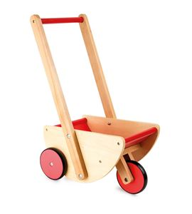 Cochecito de muñecas con 3 ruedas - 10217