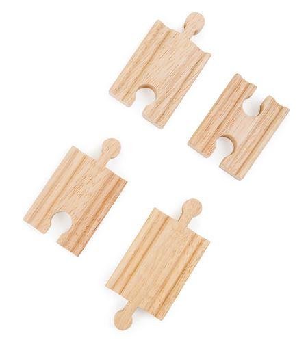 Vía recta corta, 4 piezas - 10262