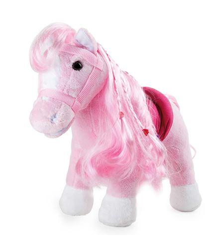Poni rosa de peluche - 10282
