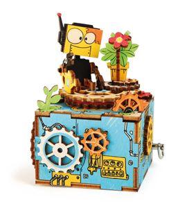 """Juego de construcción, caja de música """"robot"""" - 10288"""
