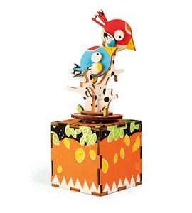 """Juego de construcción, caja de música """"pájaros"""" - 10290"""