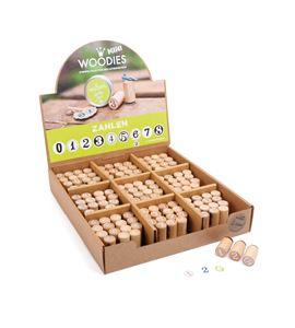 Display sellos con números, woodies - 10312