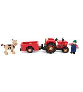 Tractor con remolque, granja - 10316