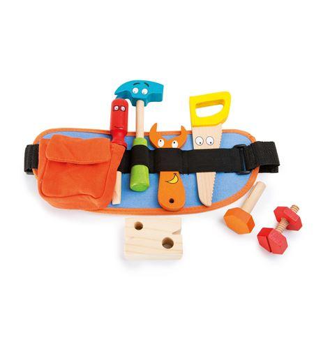 Cinturón de herramientas, rojo - 10318