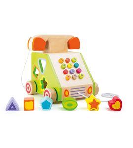 Juguete de motricidad para arrastrar, teléfono - 10319