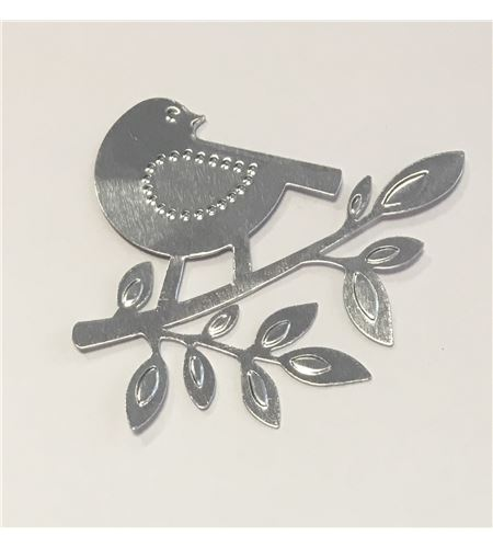 Stickers metálicos - pájaros - 11006497