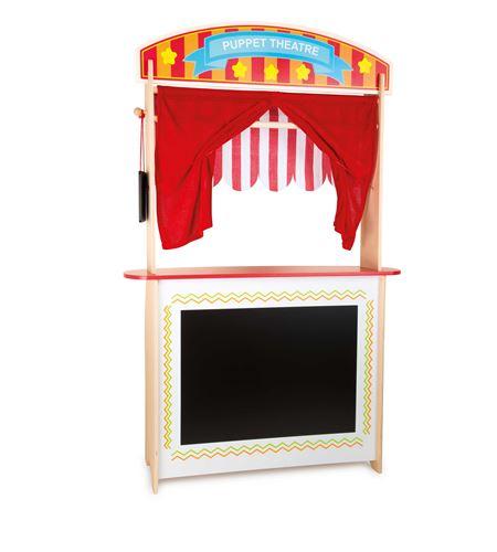 Puesto de venta y teatro de marionetas - 10328