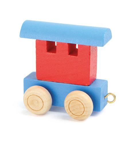 Tren de letras, vagón rojo & azul - 10348