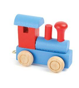 Tren de letras, locomotora rojo & azul - 10349