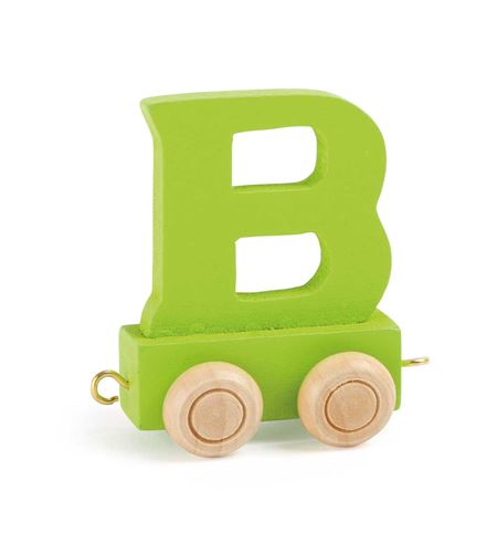 Tren de letras colorido b - 10352
