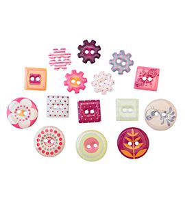 Botones de epoxy - primavera - 11006439