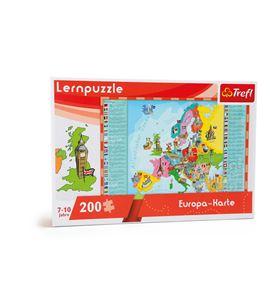 """Puzle didáctico """"mapa de europa"""" - 10418"""